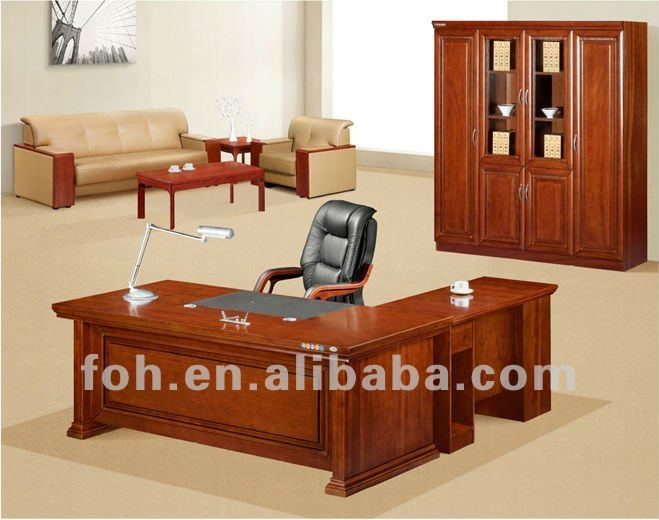 USA Style Antique Furniture Office Desk for Manager ( FOHK-2036 )