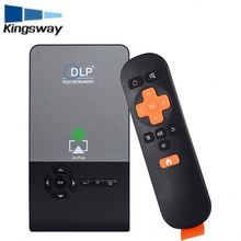 2g 16g 1280*800 3D 4K Mini Projector DLP LED 3000 education Meeting and Home C02 Mobile Phone Projector