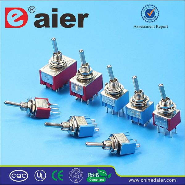 Daier 2position 8 pin toggle switch 50 amp 125v
