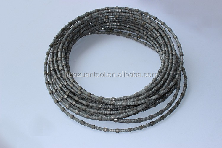 Plastic Coating Diamond Wire Saw Used On Multi Diamond Wire Saw Machine