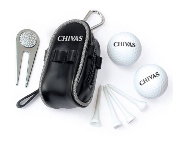 Mini Fashion Cheap Golf Set Gifts with Golf Ball, Golf Bag, Wooden Tee and Divot Tools