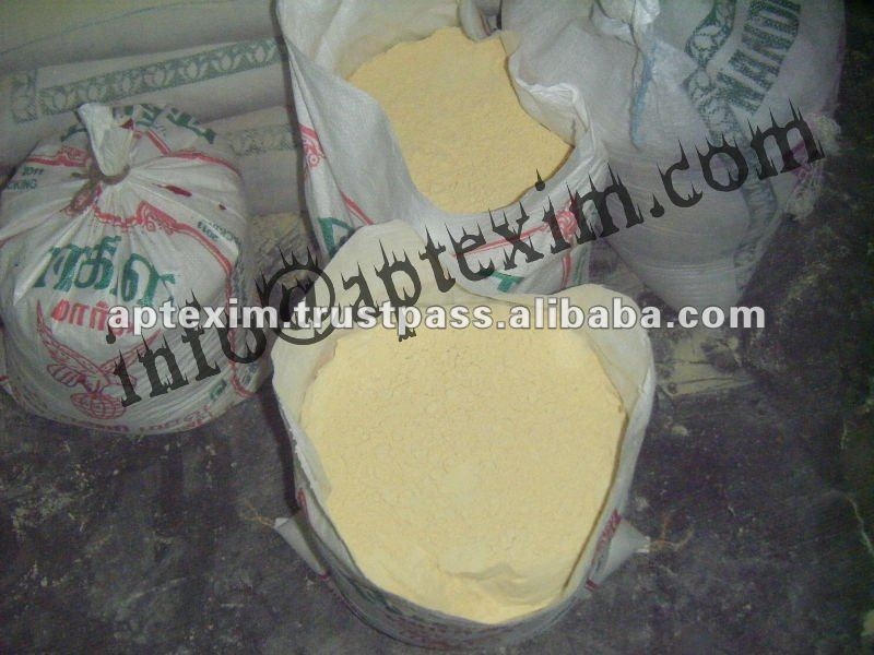 Gram flours in preparing instant mixes available in market
