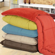 Multi Short Plushed Cushioned Colorful Microfiber Blanket 140 * 200CM / Good feeling Multi Blanket