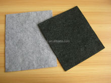 Needle punched polyester/polypropylene non woven/non-woven geotextile mat