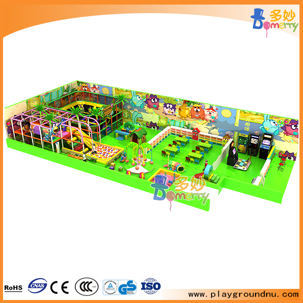 2016 New commercial kids adventure indoor playground facility