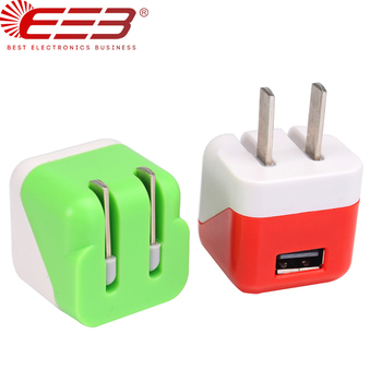 5v 1000ma cute mobile phone charger for iphone 8 iphone x iphone 6s