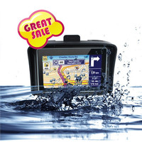 4.3inch gps navigation 84h with hd touch screen