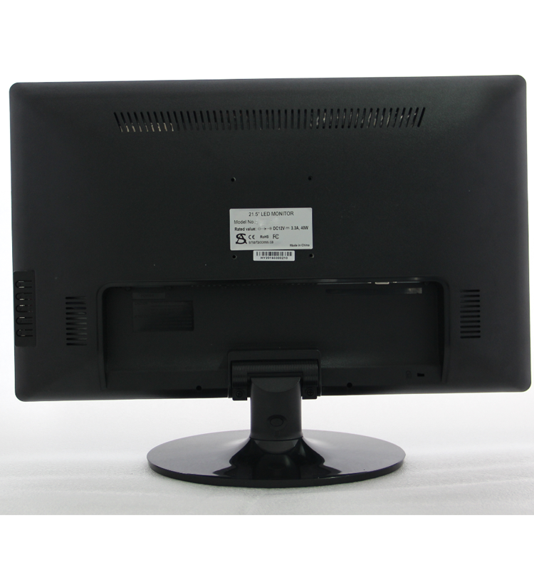 1920*1080 resolution 21 inch 12v input LCD LED monitor