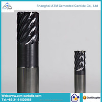 solid carbide endmills cutting tools with coating