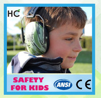 HC706 CE EN352-1 ANSI S3.19 child safety baby earmuff ear protection manufacturer
