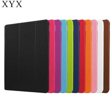 Oem pc case for huawei m2 10.1 tablet case cover pu leather with trifold stand function