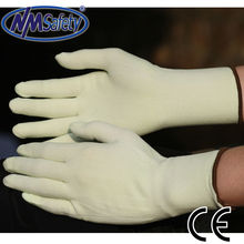 NMSAFETY Aramid fire fighting gloves anti cutting gloves working gloves
