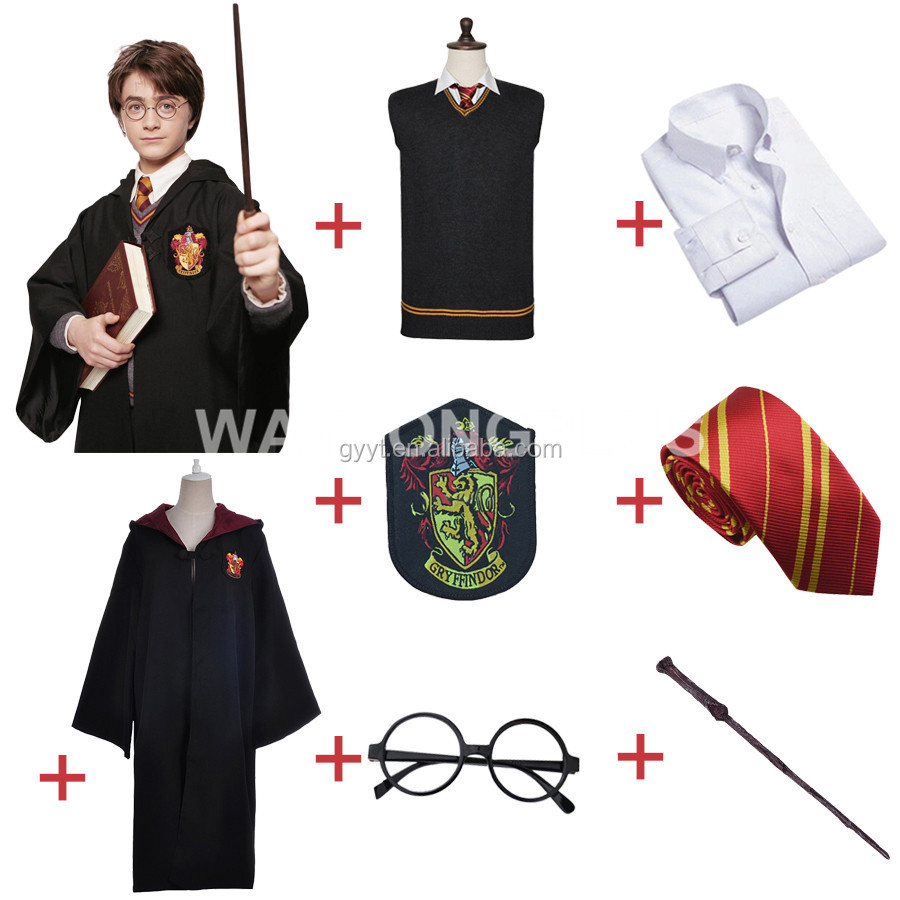 Harry Potter Costumes Kids Sets Halloween Costumes Cosplay Costume