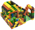 BBC17021 Educational Large Epp Foam Building Blocks For Kids Playground