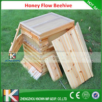 beekeeping tool 7 pcs frames honey self flowing wood bee hive with frames