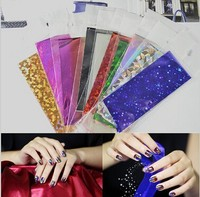 Hot! Free shipping New Metallic Gold 120cm*4cm transfer foil sticker Nail Art