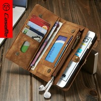 New Arrival Hot Selling CaseMe Case For Apple iPhone 6 Plus Detachable Folio 2 in 1 Wallet Leather Case,mobile phone accessories