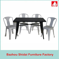 Metal Tables And Chairs design/ Garden Modern Italian Dining Room Furniture TMT-002