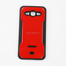 New model silicone pc hybrid kickstand combo heavy duty case for galaxy a8 a800f a8000