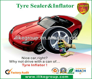 High Quality Quality Tire Sealer and Inflator for Car(SGS,Reach,RoHS)