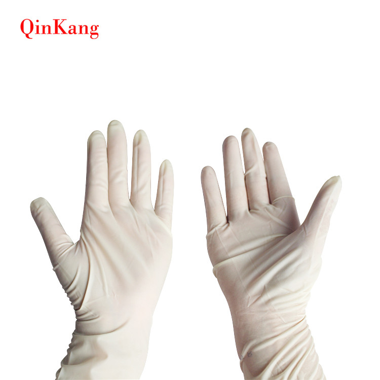 Disposable sterile non powdered medical latex surgical glove