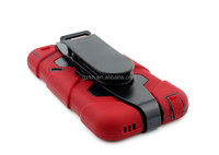 For iPod touch 5 military design belt clip case with screen protector built