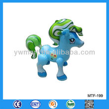 Promotional inflatable blue horse,inflatable PVC horse