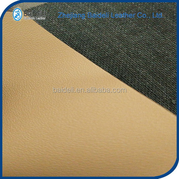 nubuck pvc vinyl fabric synthetic leather for shoes