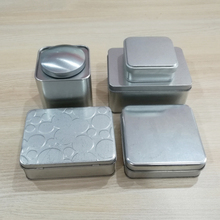 China supplier people all loved world famous various shaped plain clean silver tin can with safe and multi usage convenient cand