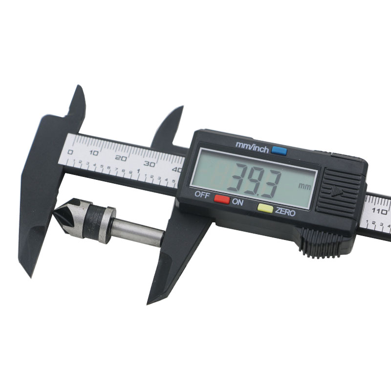 150mm 6 inch Micrometer Gauge Measuring Tool Least Count 0.1mm Cheap Price Electronic Carbon Fiber Digital Vernier Caliper