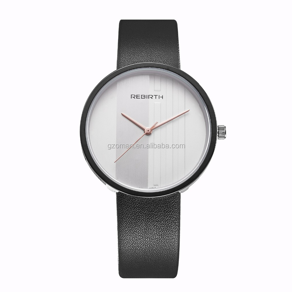 OEM custom your logo minimalist watch for man fashion latest water resistant watches 2016