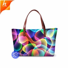 Promotional 3d Printed Concise Bags Women Handbags Made In China