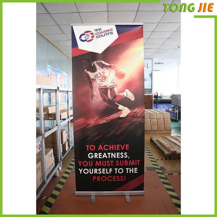 Pull Up Banner,mini desktop roll up banner stand,high quality flex banner