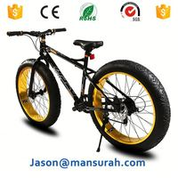 26inch 4.0 wide fat tire chopper bike bicycle electric high speed