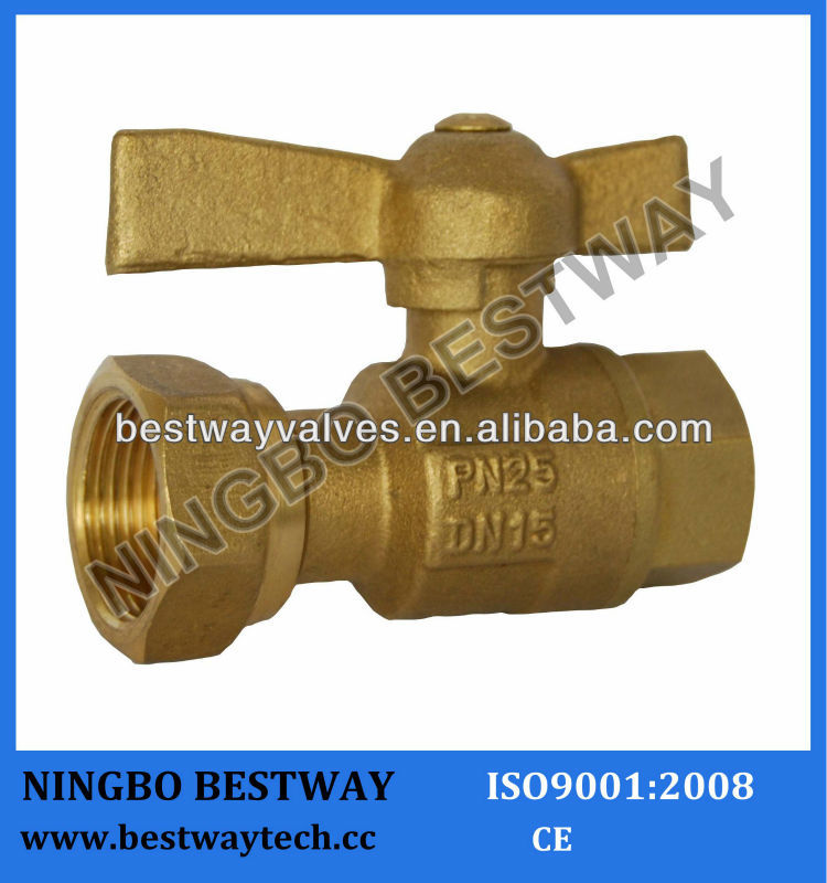 DN15 Brass ball valve for water meter