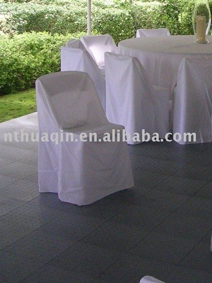 polyester folding chair cover for garden