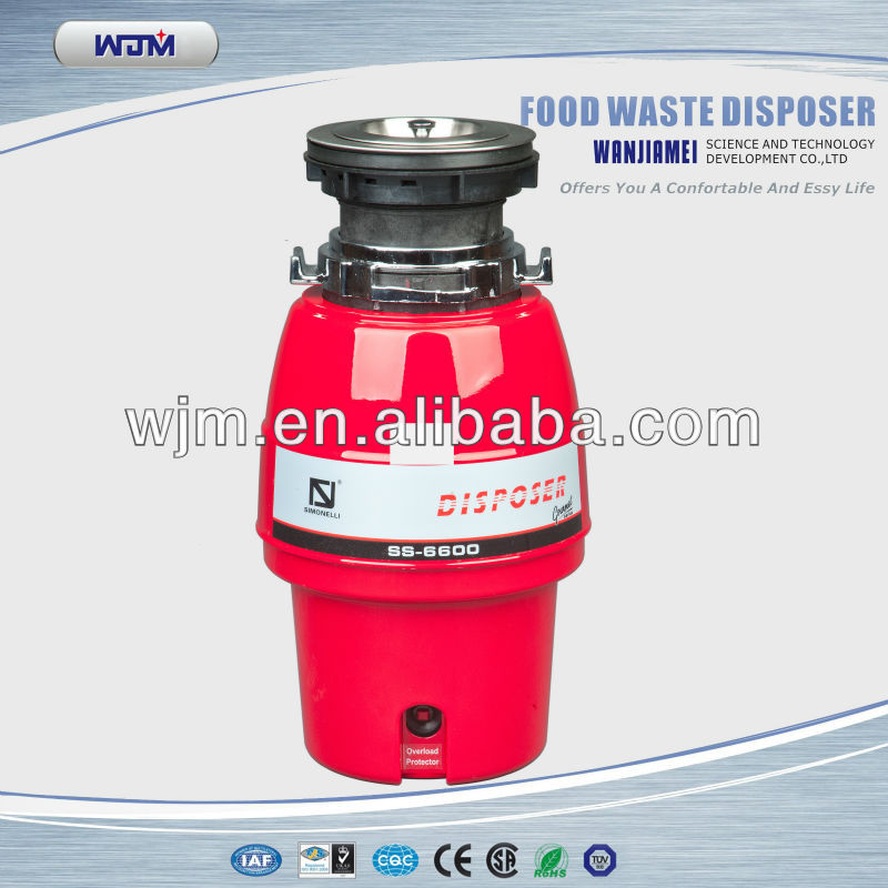 electric food waste disposer of china manufacturer