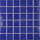 Hot selling swimming pool tiles ceramic mosaic blue glazed ceramic mosaic tile