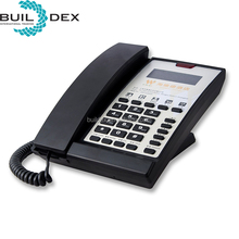 Professional luxury digital display hotel telephone set with logo customize service
