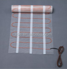 Two Conductors Electrical Floor Heating Mat For Floor Heating System