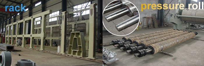 paper recycling machine parts