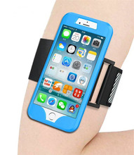 For iPhone 5S SE Top Quality Water Resistant Silicon Sports Running Armband Phone Case with Card Slot Wrist Strap Cover