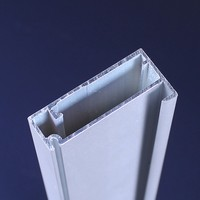 aluminum section China factory price kitchen cabinet profiles aluminum glass door frame