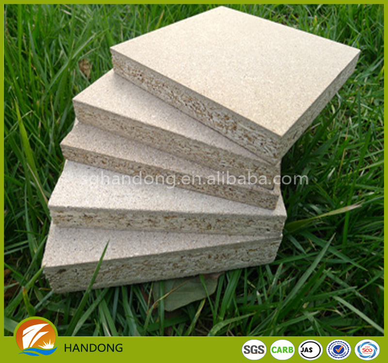melamine laminated high-density waterproof green particle board