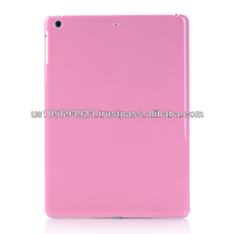 Solid Color Glossy Hard PC Case Cover Skin For Ipad Air (5th Gen.) 4 colors
