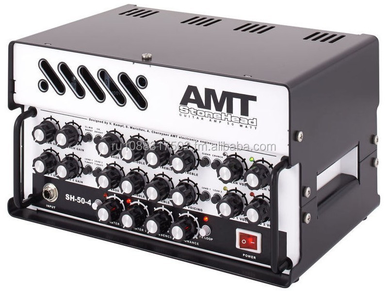 AMT ELECTRONICS STONEHEAD 50-WATT 4-CHANNEL SOLID-STATE GUITAR AMPLIFIER BRAND NEW