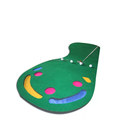 Mini Golf Green Foot shape golf putting green