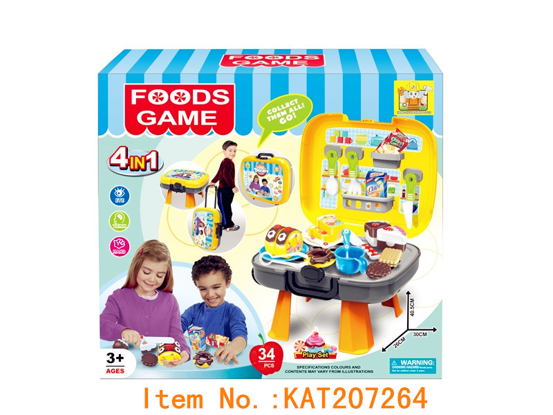 Hot Selling New Children Kitchen Toys Cutting Fruit And Vegetables Set Toys