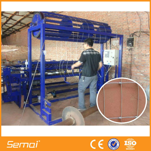 automatic field fence machine / hinge joint knot weaving machine/ grassland fence netting machine for sale(factory)