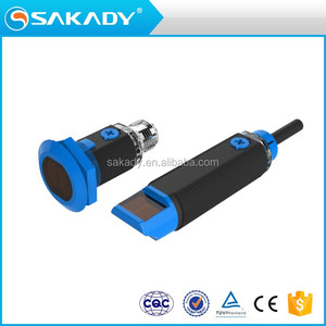 IP 65 waterproof standard CCC CE TUV 24V DC Through-beam Cylindrical Photoelectric Sensor In Stock and No-bargain Price